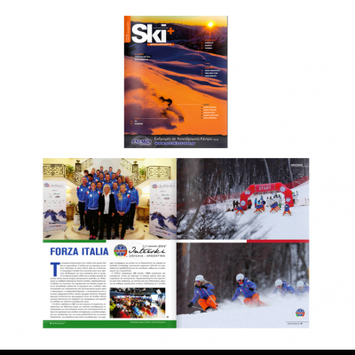 In Grecia sulla rivista Ski & Snowboard Magazine si è trattato del DemoTeamIta